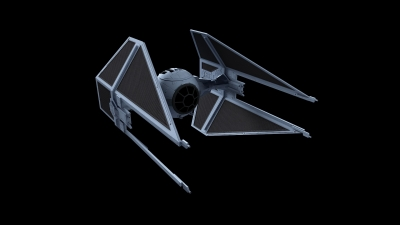 Artwork ke hře Star Wars: TIE Fighter