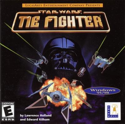 Obal hry Star Wars: TIE Fighter