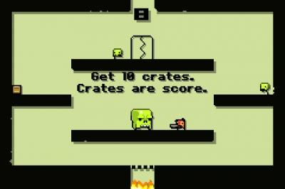 Screen ze hry Super Crate Box