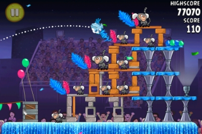 Screen ze hry Angry Birds Rio