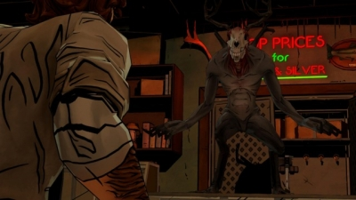 Screen ze hry The Wolf Among Us
