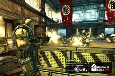 Screen ze hry Shadowgun