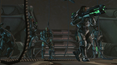 Screen ze hry XCOM: Enemy Unknown