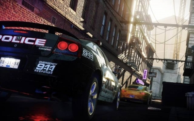 Screen ze hry Need for Speed: Most Wanted