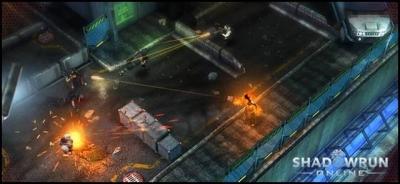 Screen ze hry Shadowrun Online