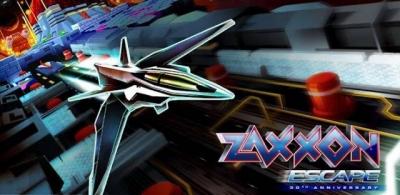 Artwork ke hře Zaxxon Escape