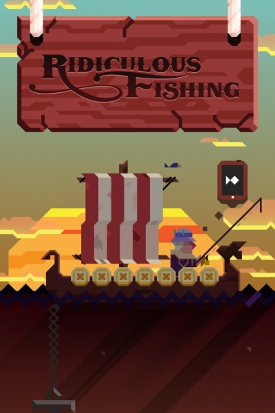 Screen ze hry Ridiculous Fishing - A Tale of Redemption