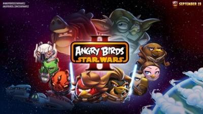 Artwork ke hře Angry Birds: Star Wars II