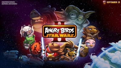 Artwork ke hře Angry Birds: Star Wars II