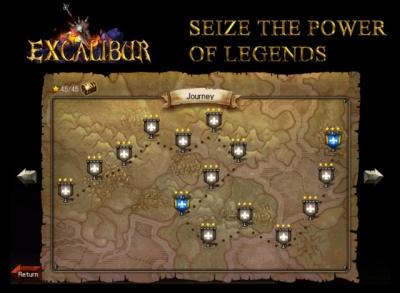 Artwork ke hře Excalibur