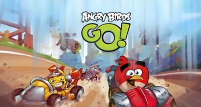Artwork ke hře Angry Birds Go!