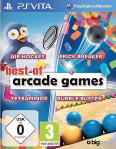 Artwork ke hře Best of Arcade Games