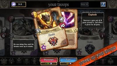 Screen ze hry Gems of War