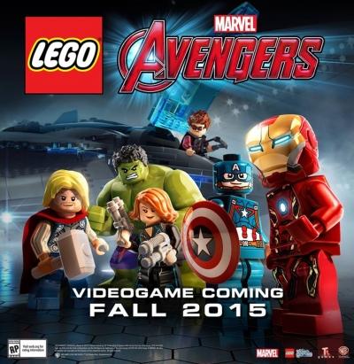 Artwork ke hře LEGO Marvel Avengers