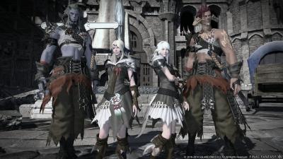 Artwork ke hře Final Fantasy XIV: Heavensward