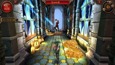Screen ze hry Running Shadow