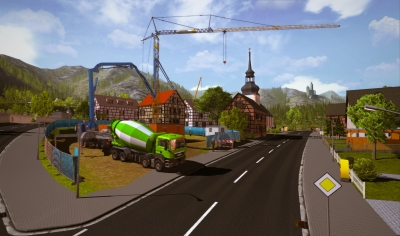 Screen ze hry Construction Simulator 2015