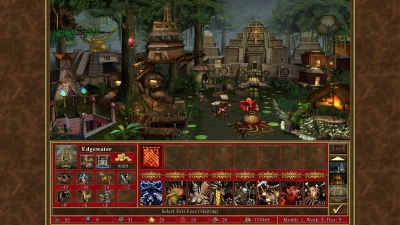 Screen ze hry Heroes of Might and Magic III - HD Edition