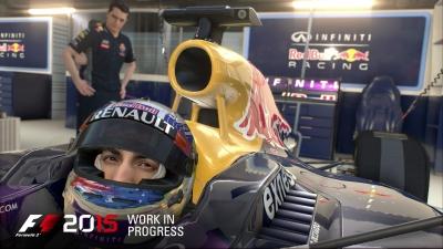 Screen ze hry F1 2015