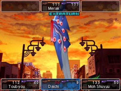Screen ze hry Shin Megami Tensei: Devil Survivor 2: Record Breaker