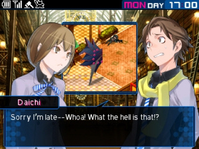 Screen ze hry Shin Megami Tensei: Devil Survivor 2: Record Breaker