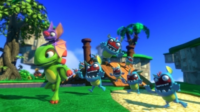 Screen ze hry Yooka-Laylee