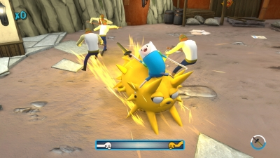Screen ze hry Adventure Time: Finn and Jake Investigations