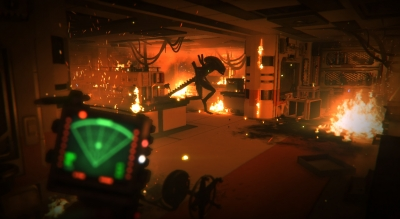 Screen ze hry Alien: Isolation - Corporate Lockdown