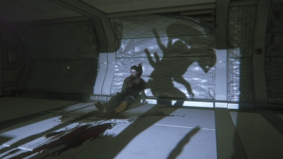 Screen ze hry Alien: Isolation - The Trigger