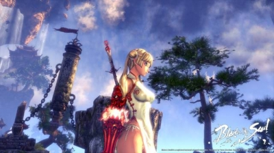 Screen ze hry Blade and Soul