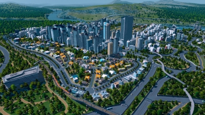 Artwork ke hře Cities: Skylines