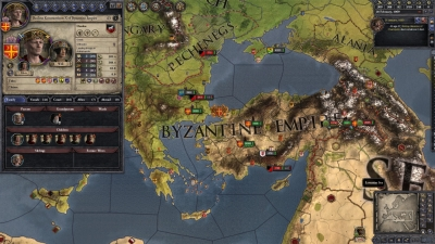 Screen ze hry Crusader Kings II: Byzantine Unit Pack