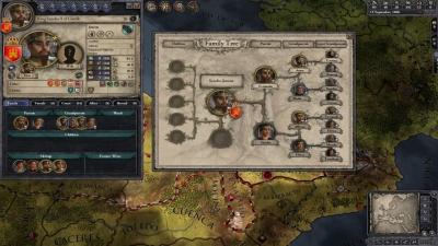 Screen ze hry Crusader Kings II: Mediterranean Portraits