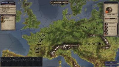 Screen ze hry Crusader Kings II: Songs of the Caliph