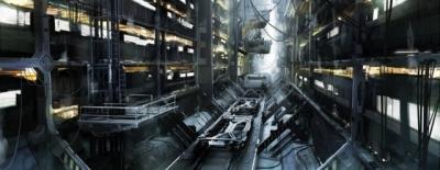 Artwork ke hře Deus Ex: Mankind Divided