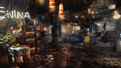 Artwork ke hře Deus Ex: Mankind Divided