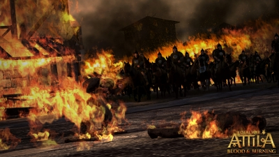 Screen ze hry Total War: ATTILA - Blood and Burning