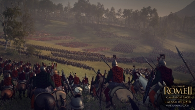 Screen ze hry Total War: ROME II - Caesar in Gaul