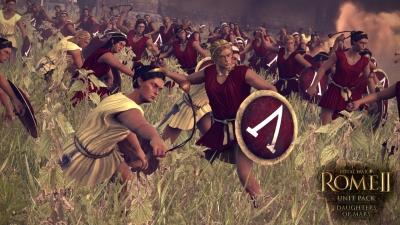 Screen ze hry Total War: ROME II - Daughters of Mars