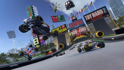 Artwork ke hře Trackmania Turbo