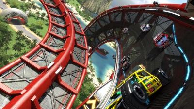 Screen ze hry Trackmania Turbo