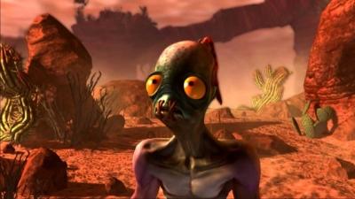 Artwork ke hře Oddworld: Abe´s Oddysee New ´n´ Tasty!