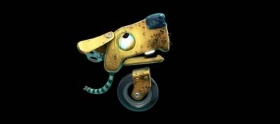 Artwork ke hře The Unlikely Legend of Rusty Pup