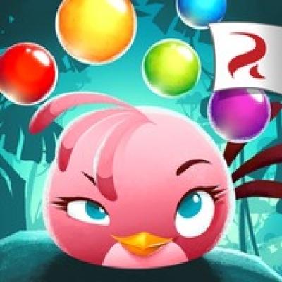 Artwork ke hře Angry Birds: Stella POP!