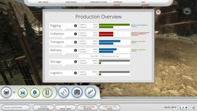 Screen ze hry Mining Industry Simulator