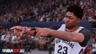 Artwork ke hře NBA 2K16