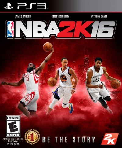 Artwork ke hře NBA 2K16