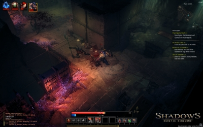 Screen ze hry Shadows: Heretic Kingdoms