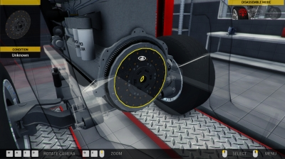 Screen ze hry Truck Mechanic Simulator 2015