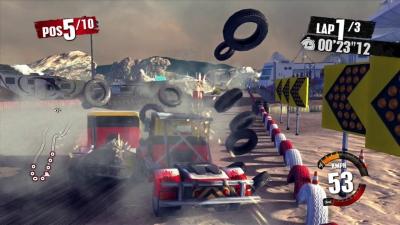 Screen ze hry Truck Racer